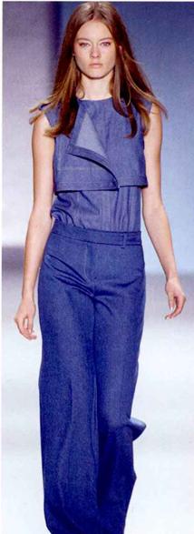 潮人服装休闲简约风格尽显轻松基调之裤装采用轻松剪裁