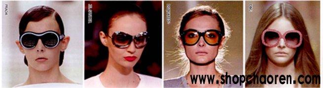 本季潮人墨镜的各种品牌和款式
