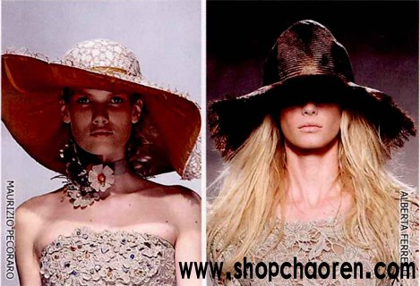 本季潮人流行时尚服装搭配之帽子的搭配